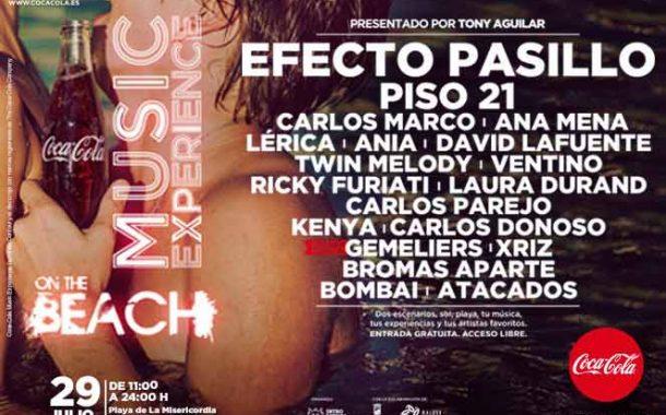 Concierto Coca Cola Music Experience La Playa La Misericordia Málaga 29/07/17