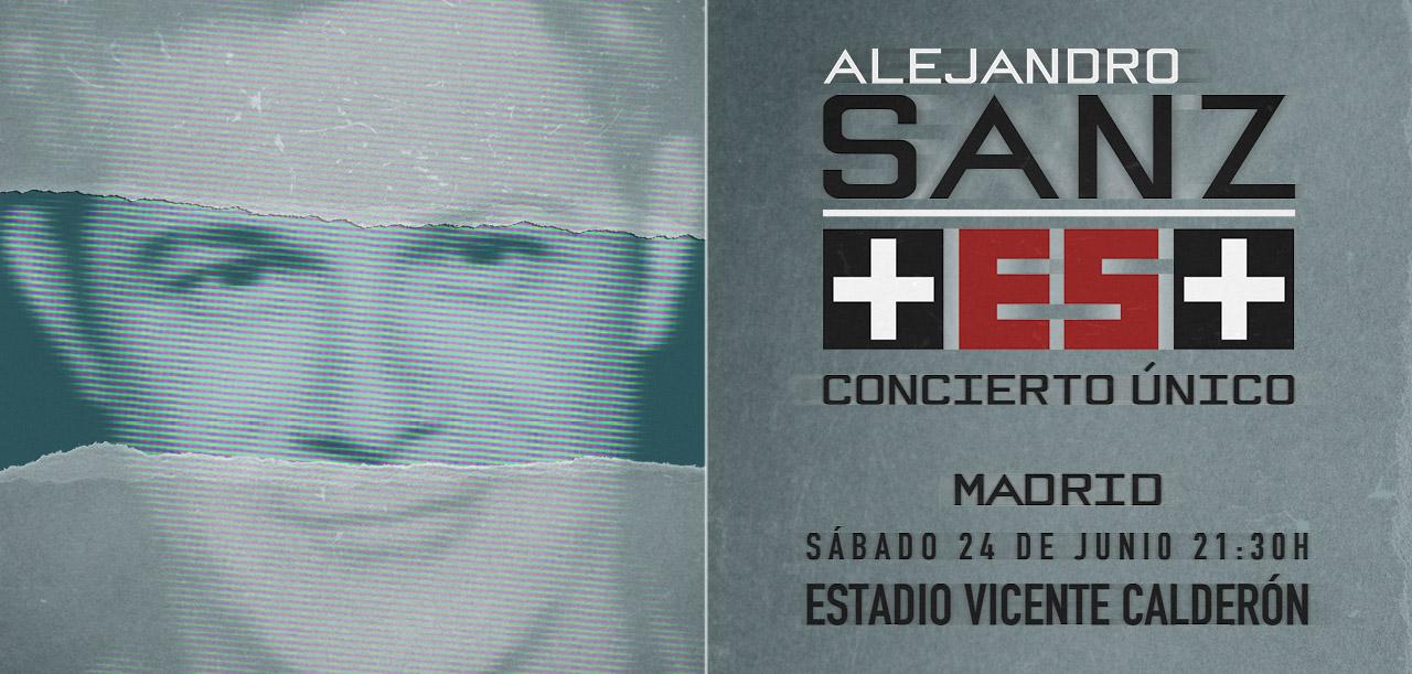 Concierto Alejandro Sanz Estadio Vicente Calderon 25/06/17 ( FOTOS)