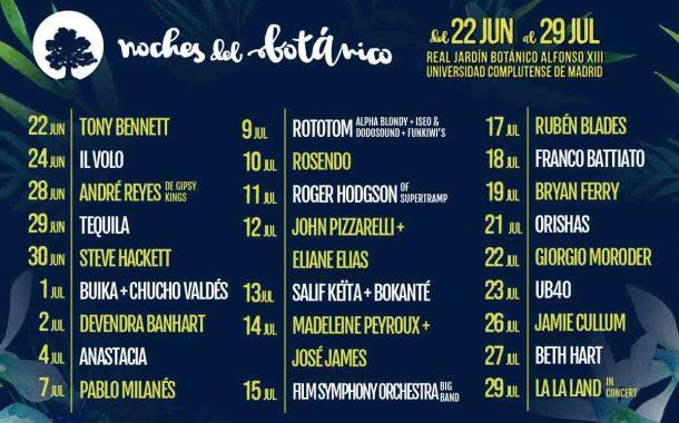 Concierto Orishas  Real Jardin Botanico Alfonso XIII Universidad Complutense De Madrid 21/07/17( FOTOS)