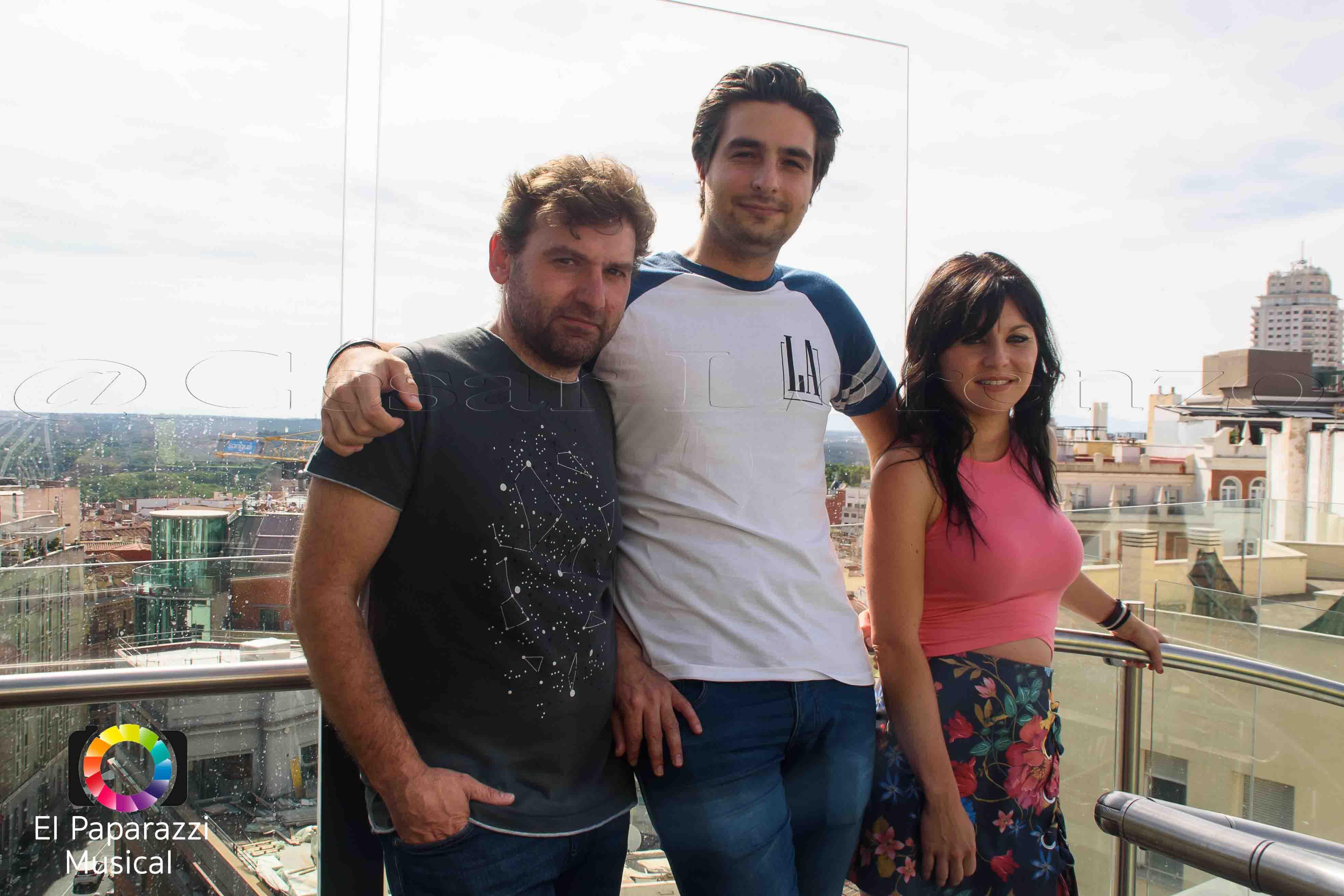 Posado Del Grupo Musical The Groo Band 09/06/17 ( FOTOS)