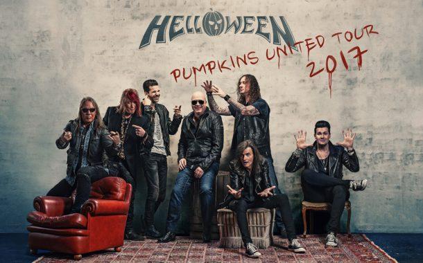 "Concierto HELLOWEEN ""PUMPKINS UNITED"" Wizink Center Madrid 09/12/17"
