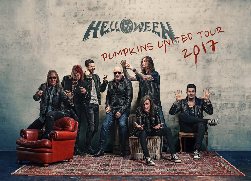 "Concierto HELLOWEEN ""PUMPKINS UNITED"" Wizink Center Madrid 09/12/17"