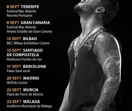 Conciertos Maluma Wizink Center Madrid 20/09/17