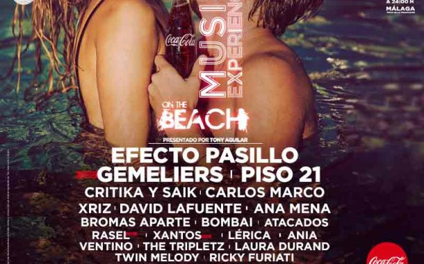 Concierto Coca Cola Music Experience On The Beach Playa La Misericordia Malaga 29/07/17 ( FOTOS)