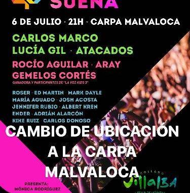 Concierto Festival Villalba Suena Carpa Malvaloca 06/07/17 ( FOTOS)