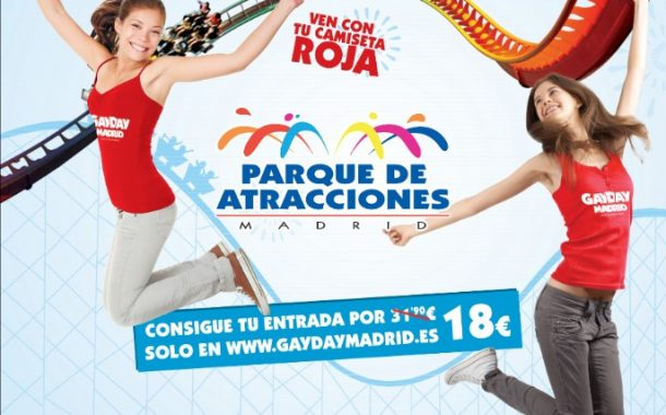 Evento Gay Day Parque De Atracciones ( FOTOS) 23/09/17