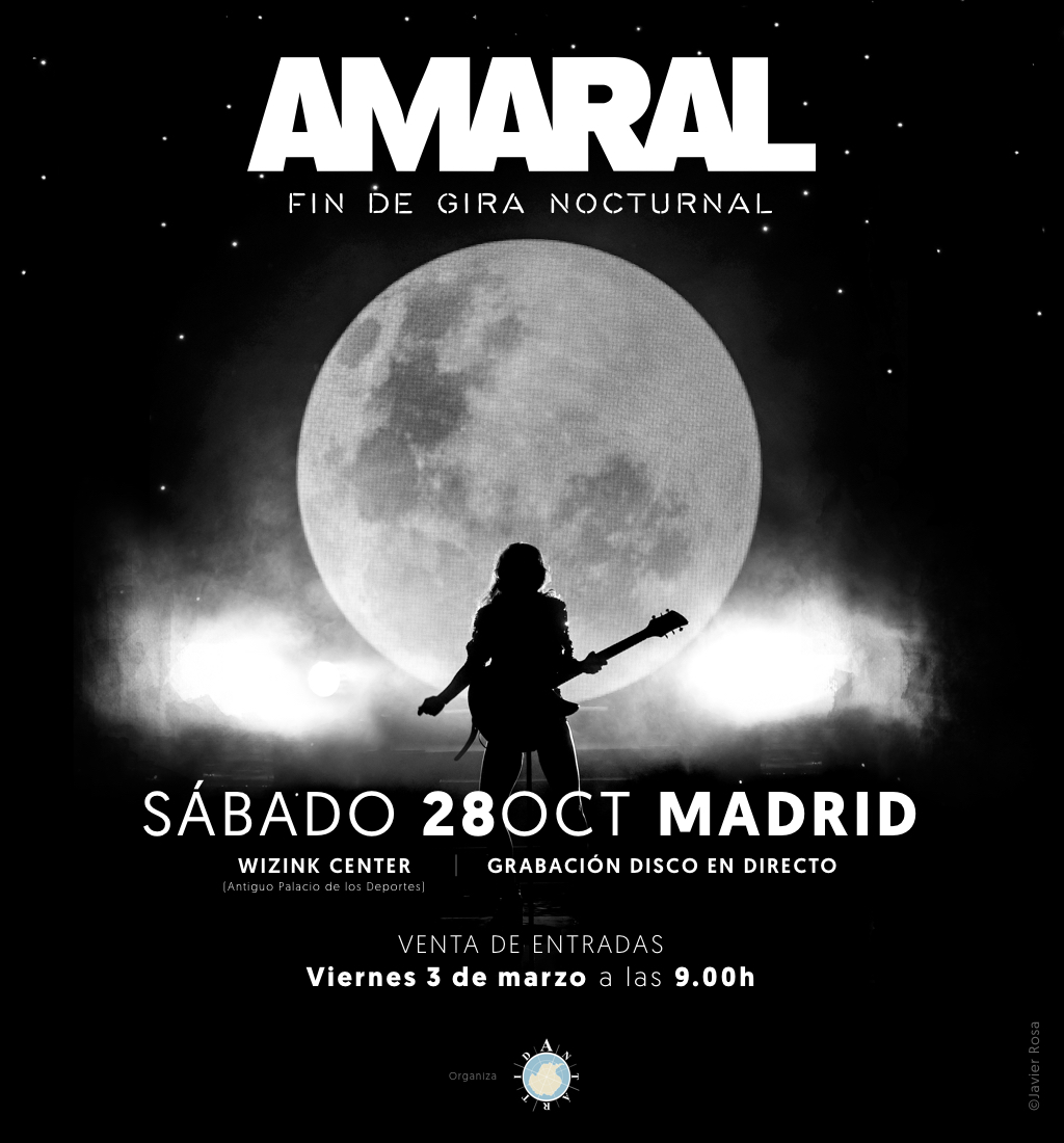 Concierto Amaral Wizink Center Madrid 28/10/17