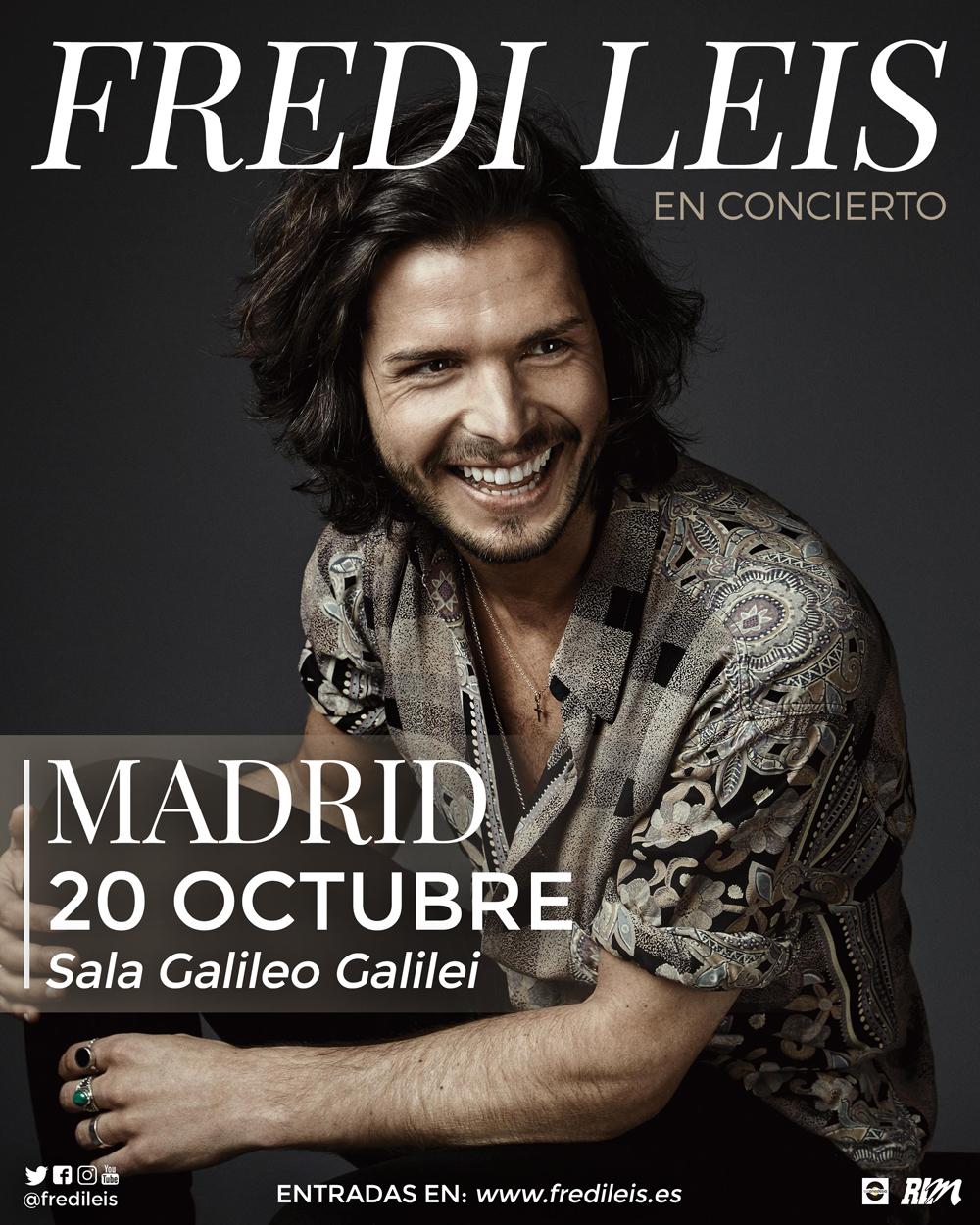 Concierto Fredi Leis Sala Galileo Galilei Madrid 20/10/17 ( FOTOS )