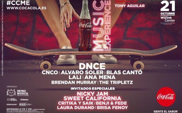 Concierto Coca Cola Music Experience 21/10/17 ( FOTOS )