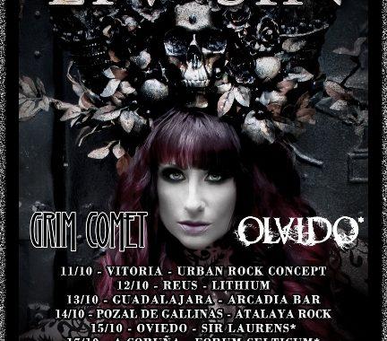 Concierto Liv Sin  Sala Silikona Madrid 19/10/17