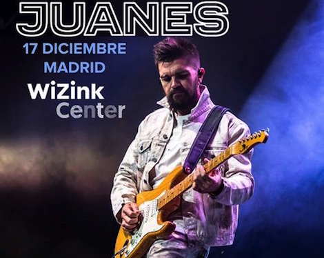 Concierto Juanes Wizink Center Madrid 17/12/17 ( FOTOS )