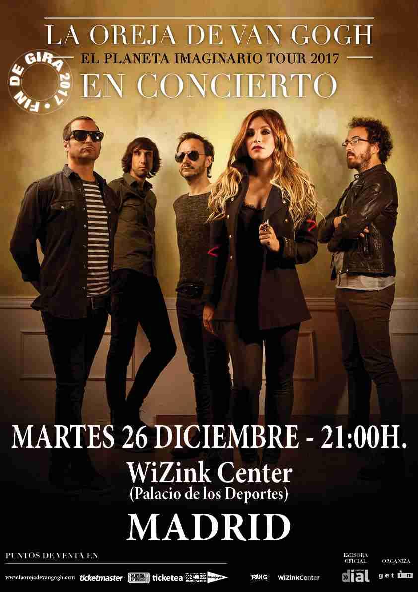 Concierto La Oreja De Van Gogh Wizink Center Madrid 26/12/17 ( FOTOS )