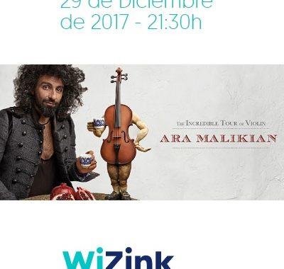 Concierto Ara Malikian Wizink Center Madrid 29/12/17 ( FOTOS )