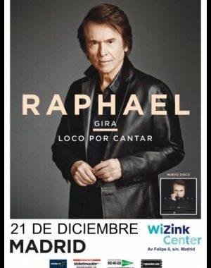 Concierto Raphael Wizink Center Madrid 21/12/17 ( FOTOS )