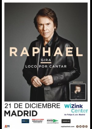 Concierto De Raphael Wizink Center Madrid 21/12/17