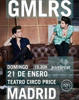 Concierto Gemeliers Madrid Teatro Circo Price Madrid 21/01/18 ( FOTOS )