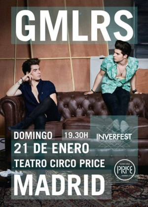 Concierto Gemeliers Madrid Teatro Circo Price Madrid 21/01/18 ( FOTOS )