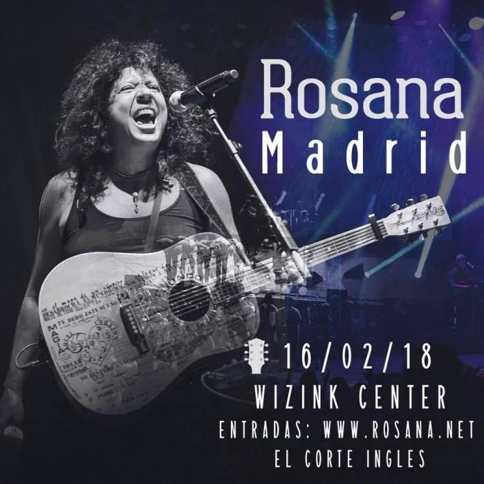 Concierto Rosana Wizink Center 16/02/18