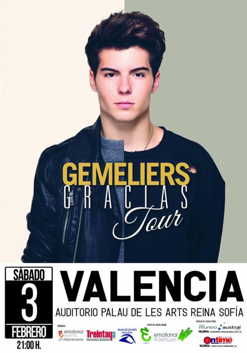 Concierto Gemeliers Auditorio Palau De Les Arts Reina Sofía Valencia 03/02/18