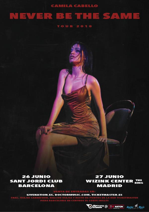 CAMILA CABELLO anuncia gira ¡por España!