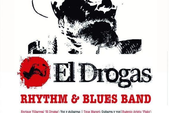La gira de teatros de EL DROGAS llega a MADRID. LUNES 12 MARZO TEATRO NUEVO ALCALA