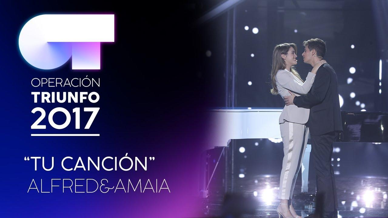 FIRMA Amaia Y Alfred De Operación Triunfo En Madrid 10/03/18 ( FOTOS )