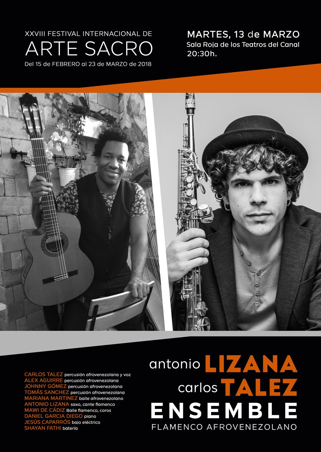 ANTONIO LIZANA presenta Ensemble Flamenco Afro-Venezolano MAÑANA en Madrid
