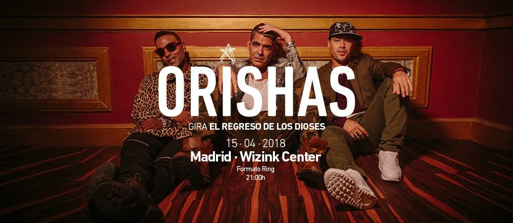 Concierto Orishas Wizink Center 15/04/18 ( FOTOS )