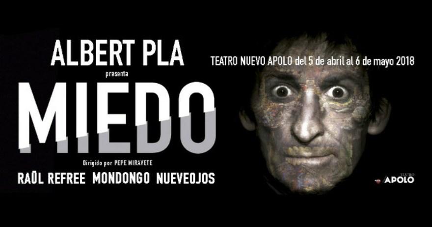 Pase Grafico Albert Pla Teatro Nuevo Apolo 05/04/18 ( FOTOS )