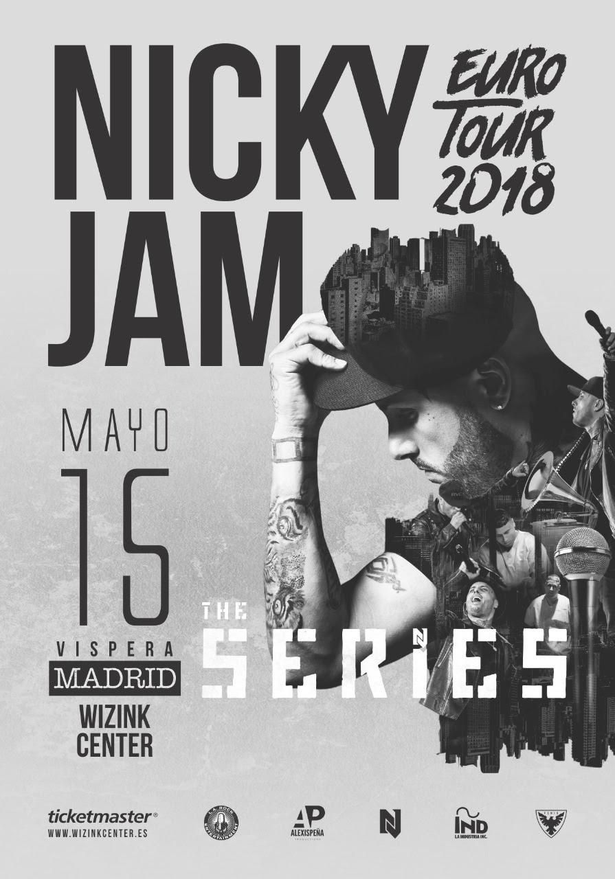 Concierto Nicky Jam Wizink Center 15/05/18 ( FOTOS )