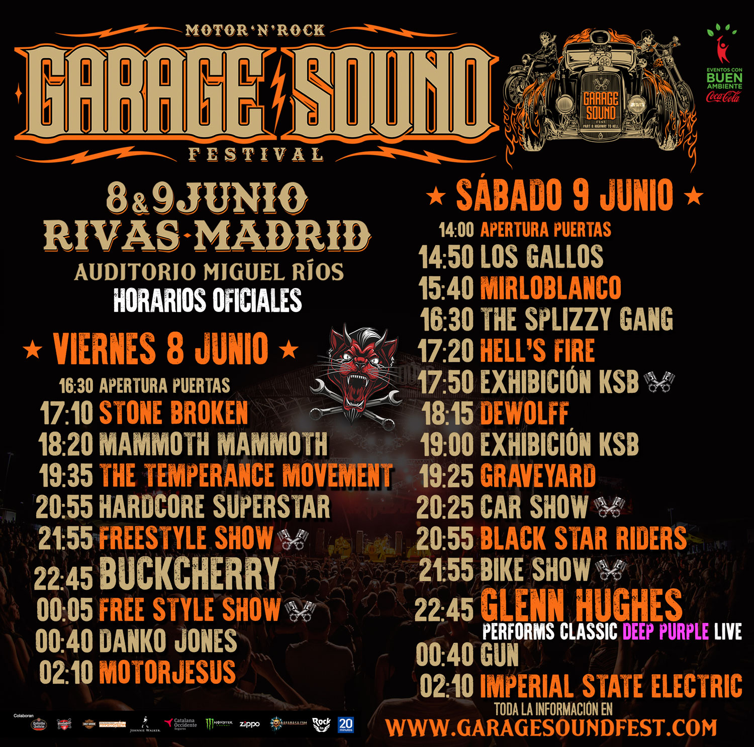 Cartel Festival Garage Sound 08-09/06/18