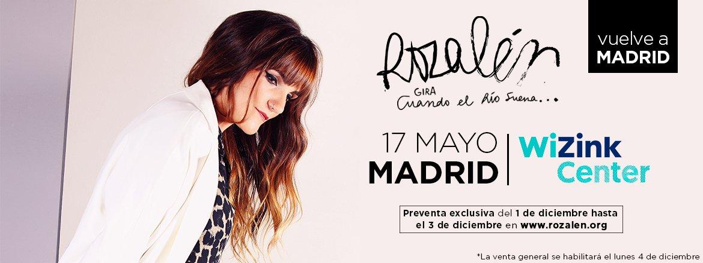 Concierto Rozalén Wizink Center 17/05/18 ( FOTOS )