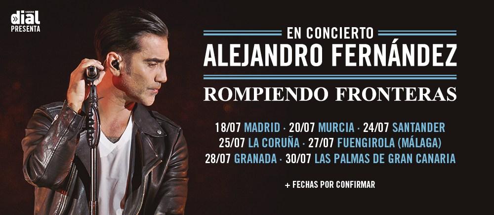 Concierto Alejandro Fernández 18/07/18 ( FOTOS )