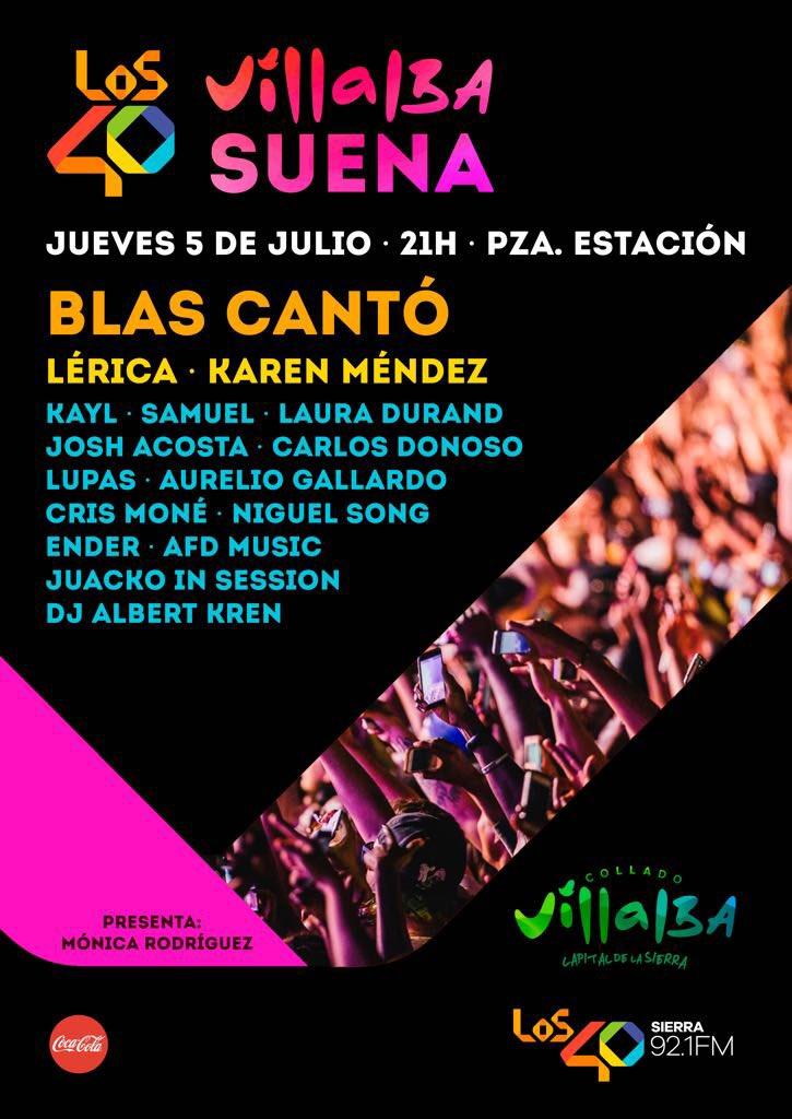 Concierto Festival Villalba Suena 05/07/18 ( FOTOS )