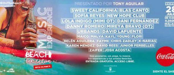 Festival Coca Cola Music Experience ( Malaga ) 28/07/18 ( FOTOS )