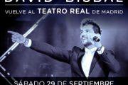 Concierto David Bisbal en el Teatro Real 29/09/18