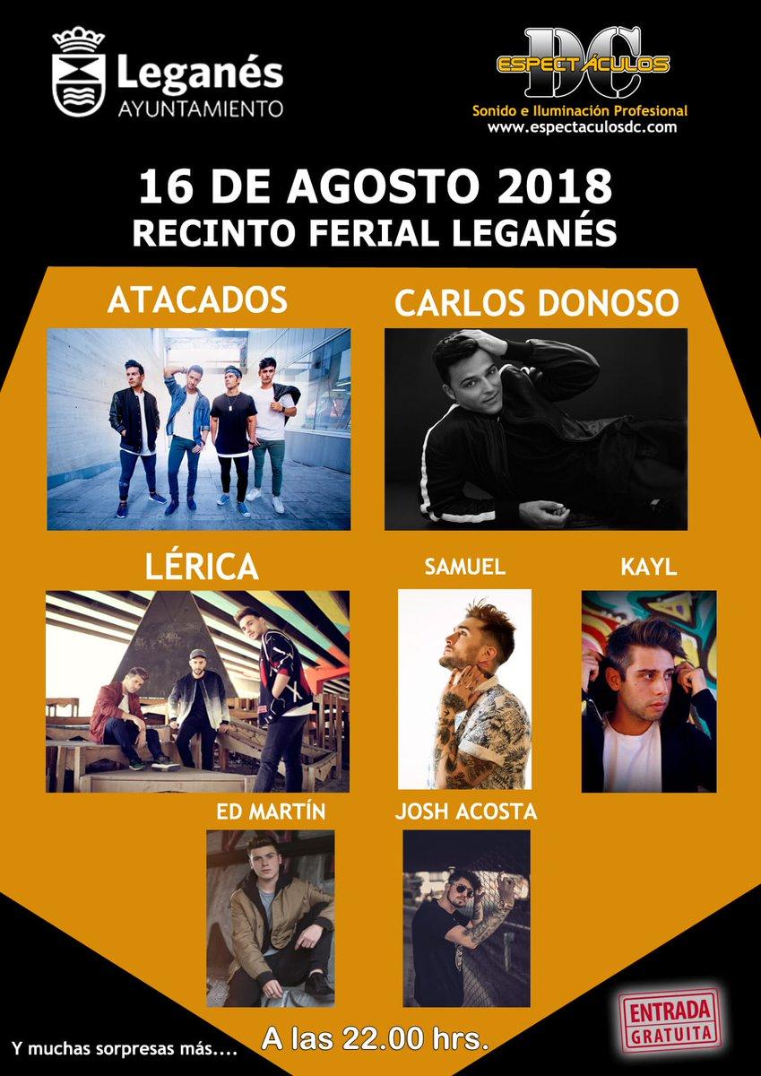 Concierto Festival Leganés 16/08/18 ( FOTOS )