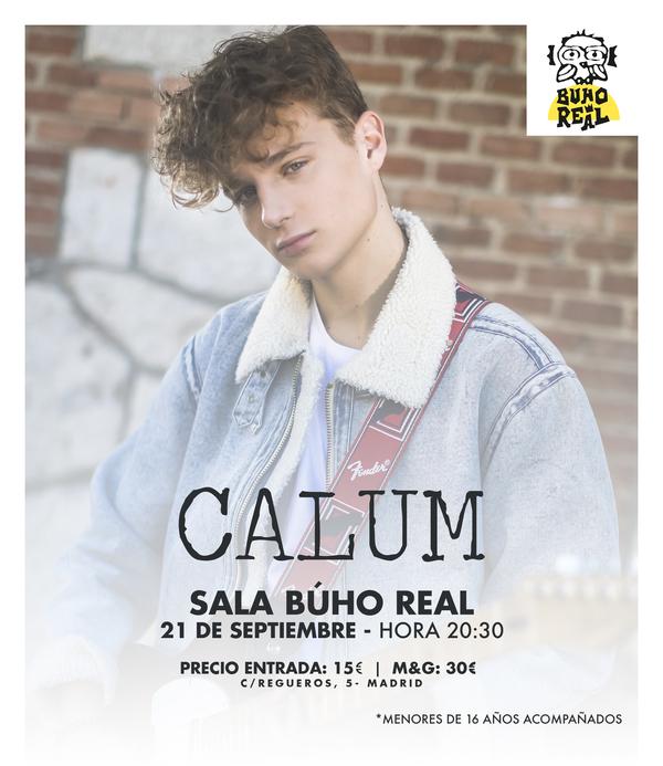 Concierto Calum Sala Búho Real 21/09/18 ( FOTOS )