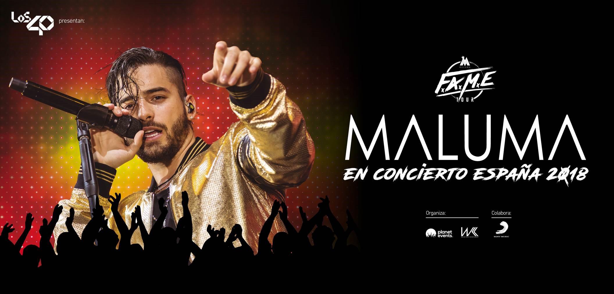 Concierto Maluma Wizink Center 06/09/18 ( FOTOS )