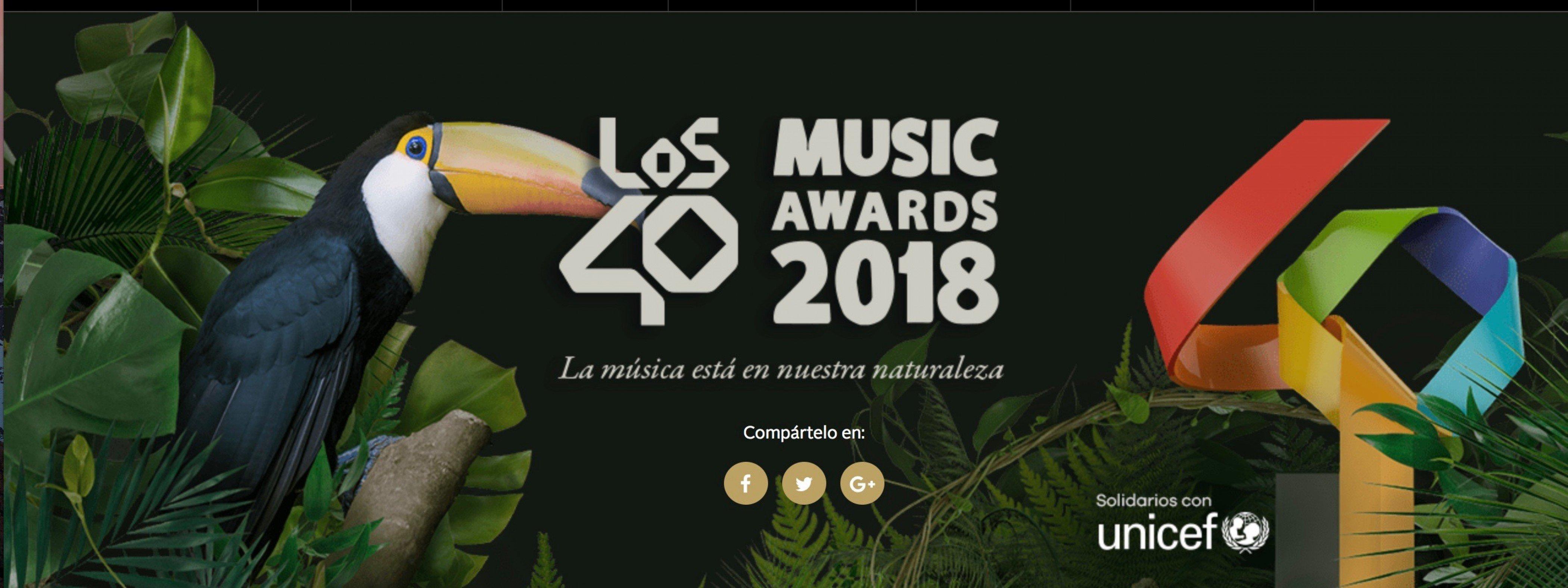 Photocall Cena De Nominados De Los 40MA 13/09/18 ( FOTOS )