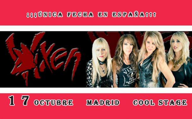 Concierto Vixen En Madrid 17/10/18