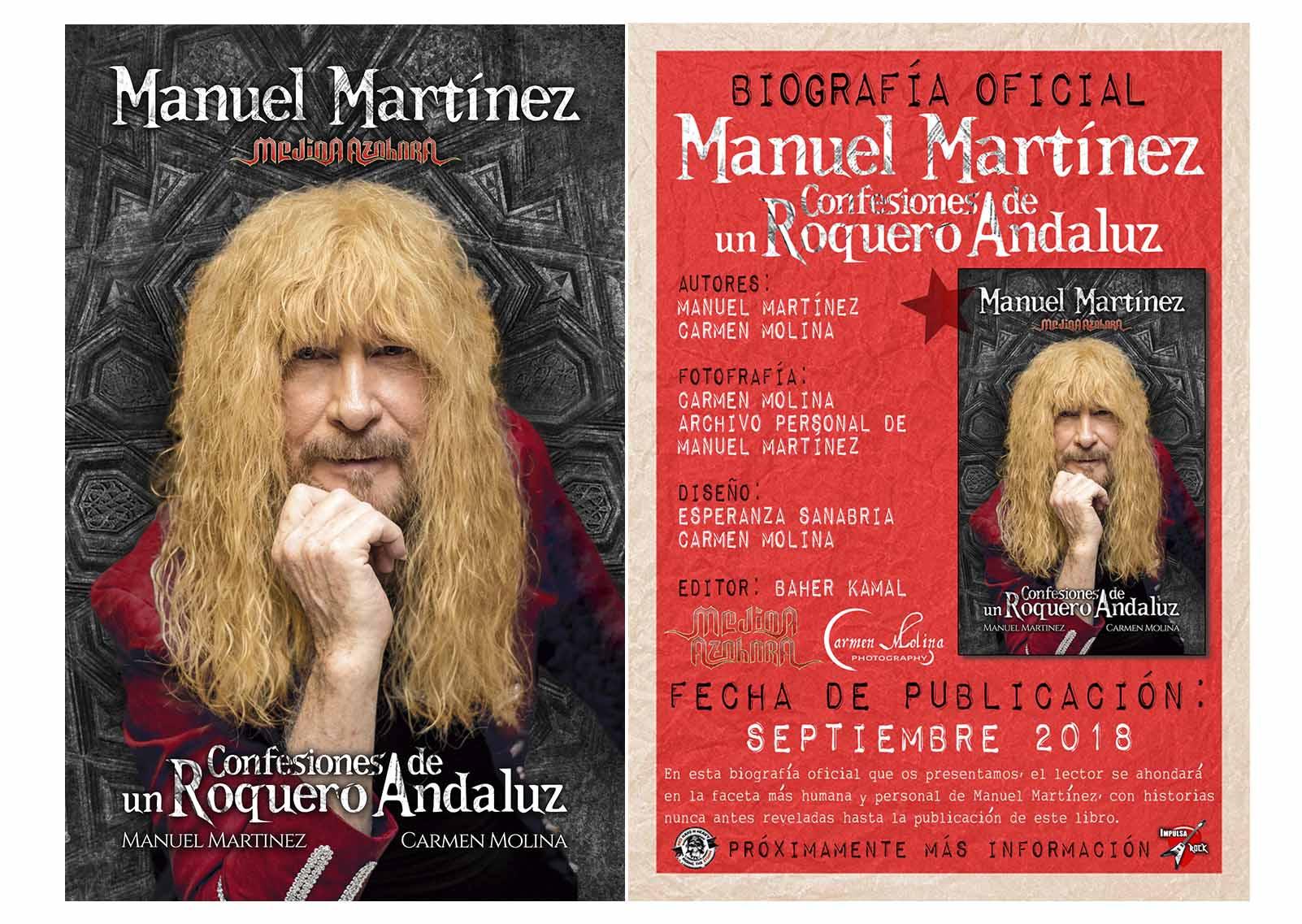 Firma libro De Manuel Martínez 30/10/18