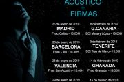 Firma De Disco Y Concierto acustico fnac callao 25/01/19