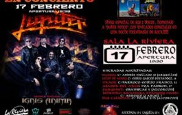 Concierto Jupiter Sala La Riviera 17/02/19