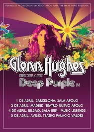 Concierto Glenn Hughes en Madrid 02/04/19