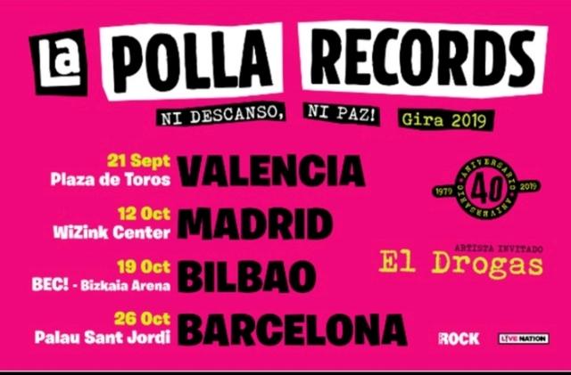 Gira La Polla Records 2019
