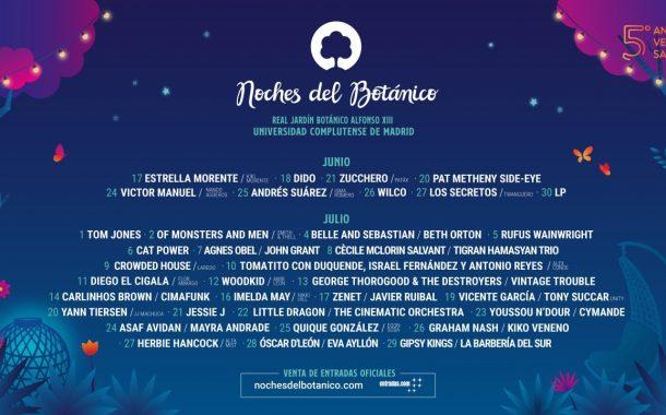 Cartel Del Festival Noches Del Botánico 2020