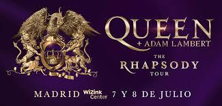 Concierto Queen + Adam Lambert