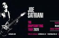 Concierto Joe Satriani Sala La Riviera el 10 de Junio 2020