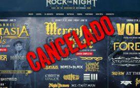 Rock The Night Festival 2020 anuncia su cancelación